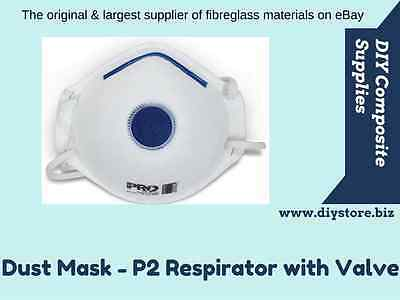 Dust Mask - P2 Dust/Mist/Fume Respirator with Valve (FREE FREIGHT)