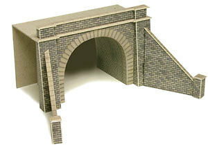 Metcalfe PN142 Double Track Tunnel Entrances (N) Railway Model