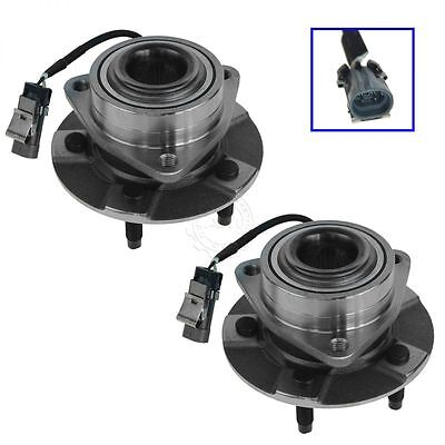 Front Wheel Hub & Bearing Assembly NEW Pair Set for Equinox Torrent Vue w/ABS