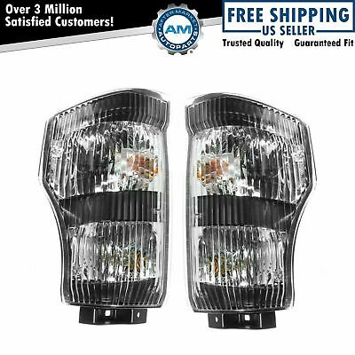 Corner Side Marker Parking Light LH/RH Pair Set for Isuzu
