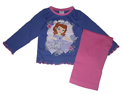 Girls Pyjamas Disney Princess Sofia The First