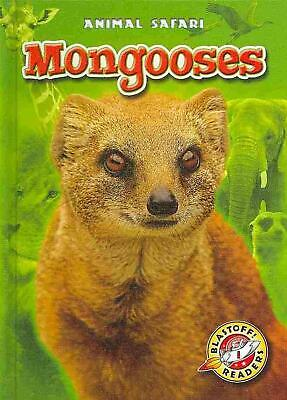 Mongooses by Megan Borgert-Spaniol (English) Library Binding Book Free Shipping!