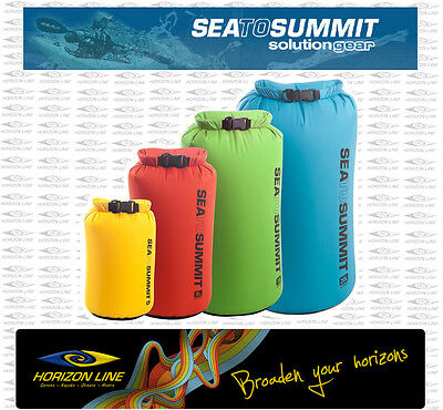 Solution Light Weight Dry Sacks, Bags Sea to Summit kayak, Camping sack bag