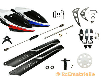 Set Ricambi Completo Elicottero RC 9117 Flying Double Horse Shuan Ma DH RC