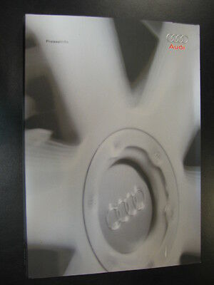 Media Kit Audi maart 2002 (Engels) Geneva Motorshow