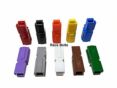 10 x 30 AMP TORBERRY ANDERSON POWERPOLE ELECTRICAL CONNECTORS - ALL COLOURS