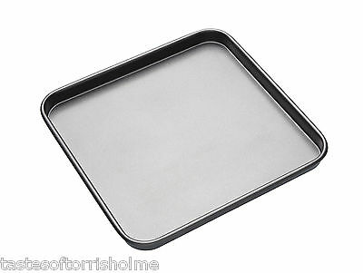 Master Class Professional 10 Inch Square Non Stick Shallow Baking Sheet Tray