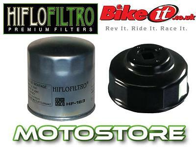 White Zinc Oil Filter & Removal Tool Fits Bmw R1100 S Sport 2002