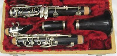 Vintage Buffet Grenadilla Bb Clarinet Made in France c1892 Fully Overhauled