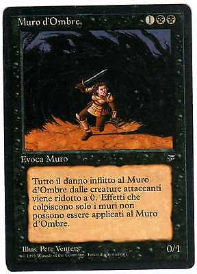 Muro d'Ombre - Wall of Shadows carte Magic (BLACK BORDER Italian Legends)