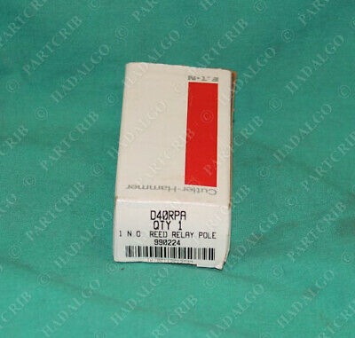 Cutler-Hammer Eaton D40RPA Type R Reed Relay Poles NEW