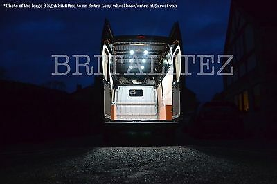 Fiat Ducato  LED Light Kit, Van Lighting, Loading Area Lights, Interior Lights