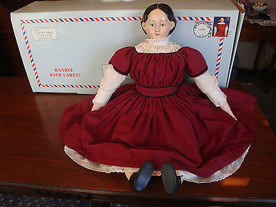 USPS CLASSIC AMERICAN DOLL LUDWIG GREINER PAPIER-MACHE DOLL