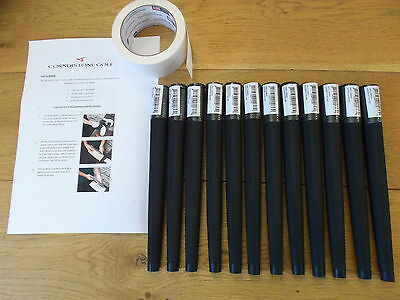 Lamkin Arthritic Golf Grips x 12 with instructions and tape