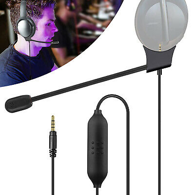 Pro Gamer Gaming Headset Office Headphone for PS4 Xbox One&PC Computer Laptop US
