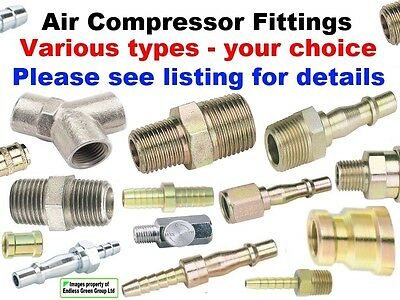 Air Compressor parts, wide choice of airtool hose fittings - SELECT MULTI PACK