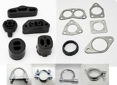 Ford Focus Mk1 1998-2004 2.0 Centre + Rear Exhaust Box Fitting Kit Brand New