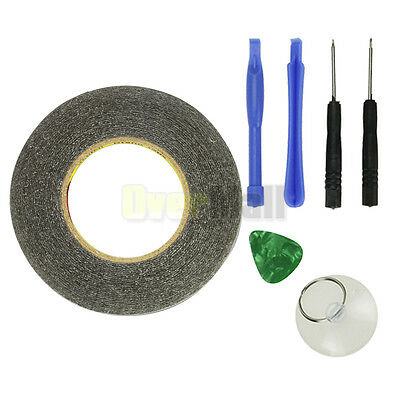 5mm Double Side Adhesive 3M Sticker Tape For Cellphone IPad Screen + Tools