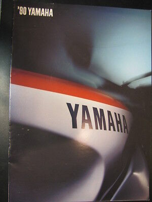 Folder / Brochure Yamaha Totaalprogramma 1990 (Nederlands)