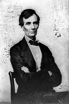 New 5x7 Photo: President - Elect Abraham Lincoln in 1860