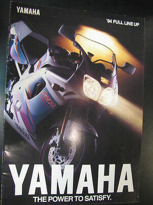 Folder / Brochure Yamaha Totaalprogramma 1994 (Nederlands)