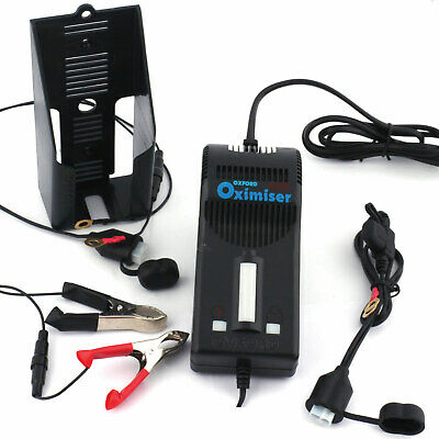 Street Triple 675 Oxford Oximiser 12v Motorcycle Battery Charger