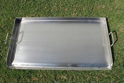CONCORD 36 x 22 Stainless Steel Portable Add on Flat Top Griddle Outdoor Stove