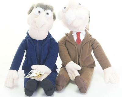 "New Official 17"" Waldorf And Statler From The Muppets Friends Of Kermit The Frog"