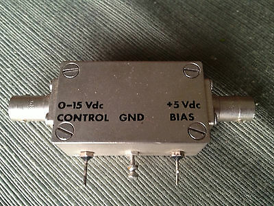 JFW industries 50AP-002 Voltage Variable Attenuator BNC 10MHz to 500MHz
