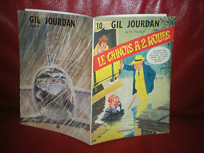 Gil Jourdan N°10 Le Chinois A Deux Roues - Edition Brochee 1977 - Tillieux