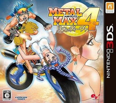 NEW Nintendo 3DS Metal Max 4 Gekkou no Diva JAPAN import Japanese game