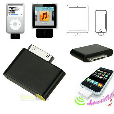 Bluetooth Adapter For Ipod Classic Iphone Touch Nano Video Adaptor Itouch Black