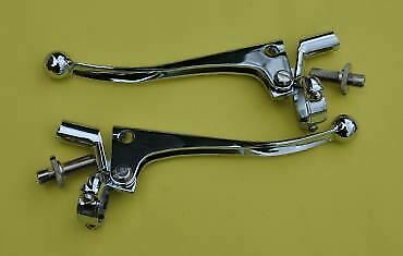 """Doherty 217 1"""" Triumph Clutch and Brake Lever Set"""