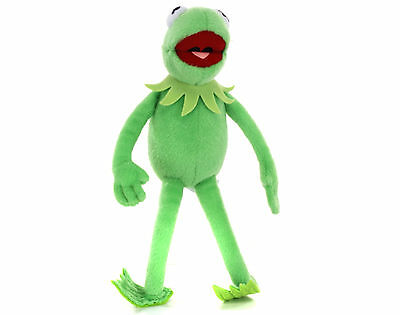 "New Official 17"" Kermit The Frog From The Muppets Plush Soft Toy"