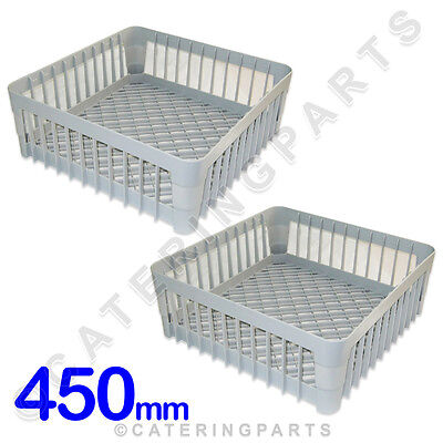 2 X 450 X 450 Dish-Washer Glass-Washer Open Cup Racks 450Mm Square Baskets Ime