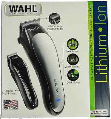 Wahl Lithium Ion 27-Piece Clipper and Trimmer Kit 79600-2112 Brand NEW Hair