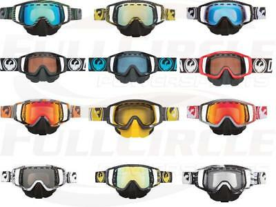 Dragon Vendetta Goggles With Nose Guard & Dual Pane Snowmobile Snocross Racing