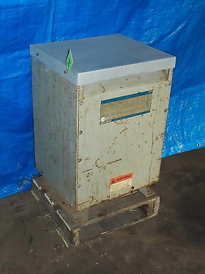 GE GENERAL ELECTRIC Specialty Transformer 15 kVa 3 Phase on