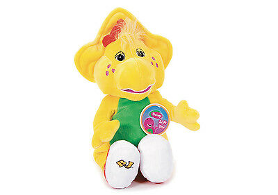 """Official Brand New 14"""" Bj Plush Soft Toy Friend Of Barney And Baby Bop"""