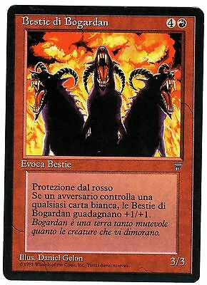 Bestie di Bogardan - Beasts of 1x ITALIAN LEGENDS (Magic Leggende) EXC