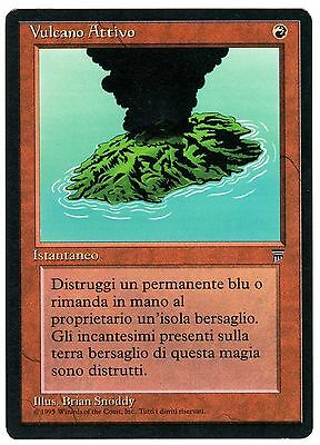 Vulcano Attivo - Active Volcano 1x ITALIAN LEGENDS (Magic Leggende) EXC