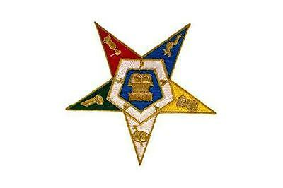 OES Masonic Order Of The Eastern Star Patch
