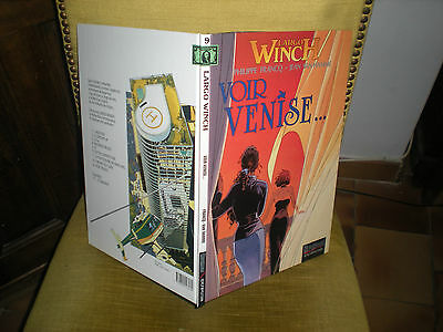 Largo Winch N°9 Voir Venise - Edition Originale Septembre 1998