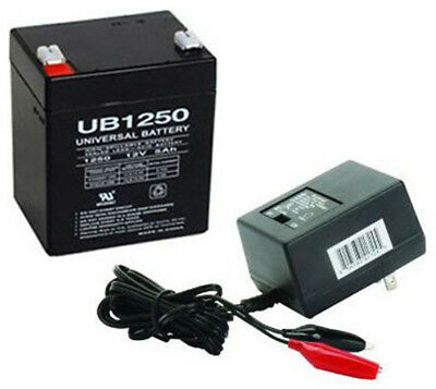 Upg Upg Ub1250 12V 5Ah Sla Battery Combo With Charger