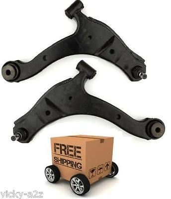 2 x PT CRUISER FRONT LOWER BOTTOM WISHBONE SUSPENSION ARM N S F + O S F