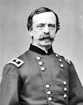 New 8x10 Civil War Photo: Union - Federal General Daniel Sickles