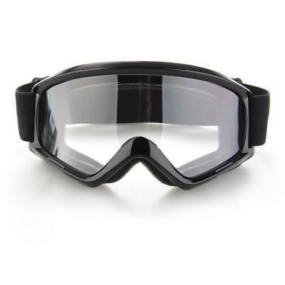 Eye Protection Eyewear Safety Goggles Glasses Windproof Clear Lens Sport Outdoor