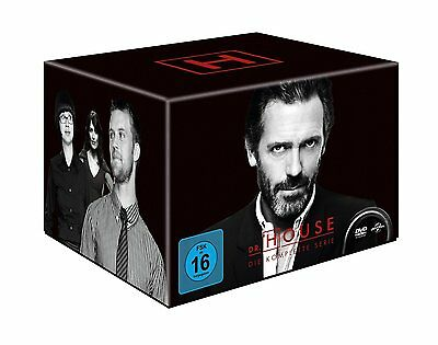 46 DVDs * DR. HOUSE 1 + 2 + 3 + 4 + 5 + 6 + 7 + 8  KOMPLETT BOX  # NEU OVP +