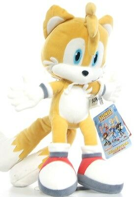 "New Official 12"" Tails Plush Soft Toy Friend Of Sonic The Hedgehog And Knuckles"