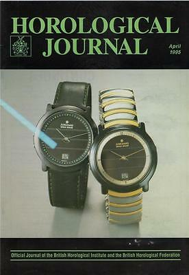 Horological Journal 137/4  Basel-95. 400-day suspension. Wheel cutters HL5.411